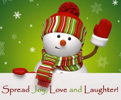 Spread Joy Love and Laughter Orlando Espinosa