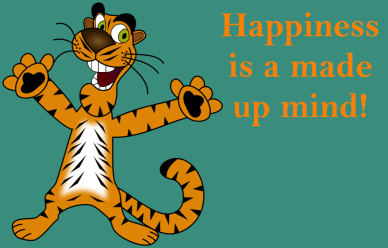 Happiness is a made up mind orlando espinosa