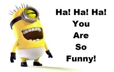 power of humor -minion-laughing orlando espinosa