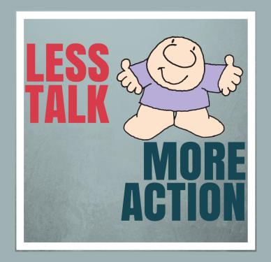 less advice less_talk_more_action orlando espinosa