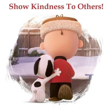 showing kindness orlando espinosa snoopy