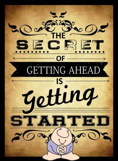 start the secret to getting ahead orlando espinosa