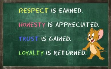 being honest orlando espinosa life-respect-loyalty-honesty-trust