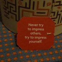 Never Try To Impress