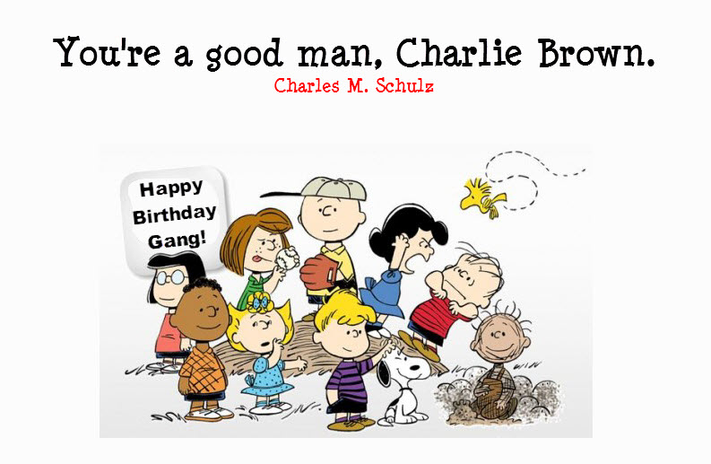 Happy Birthday Charlie Brown Orlando Espinosa