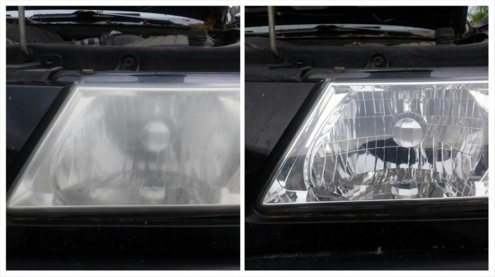 medium resolution of 2004 isuzu rodeo headlight restoration