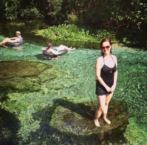 Rock Springs swimming area, Apopka Florida (35 minutes from Orlando)