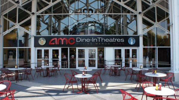 Downtown Disney AMC Fork and Screen