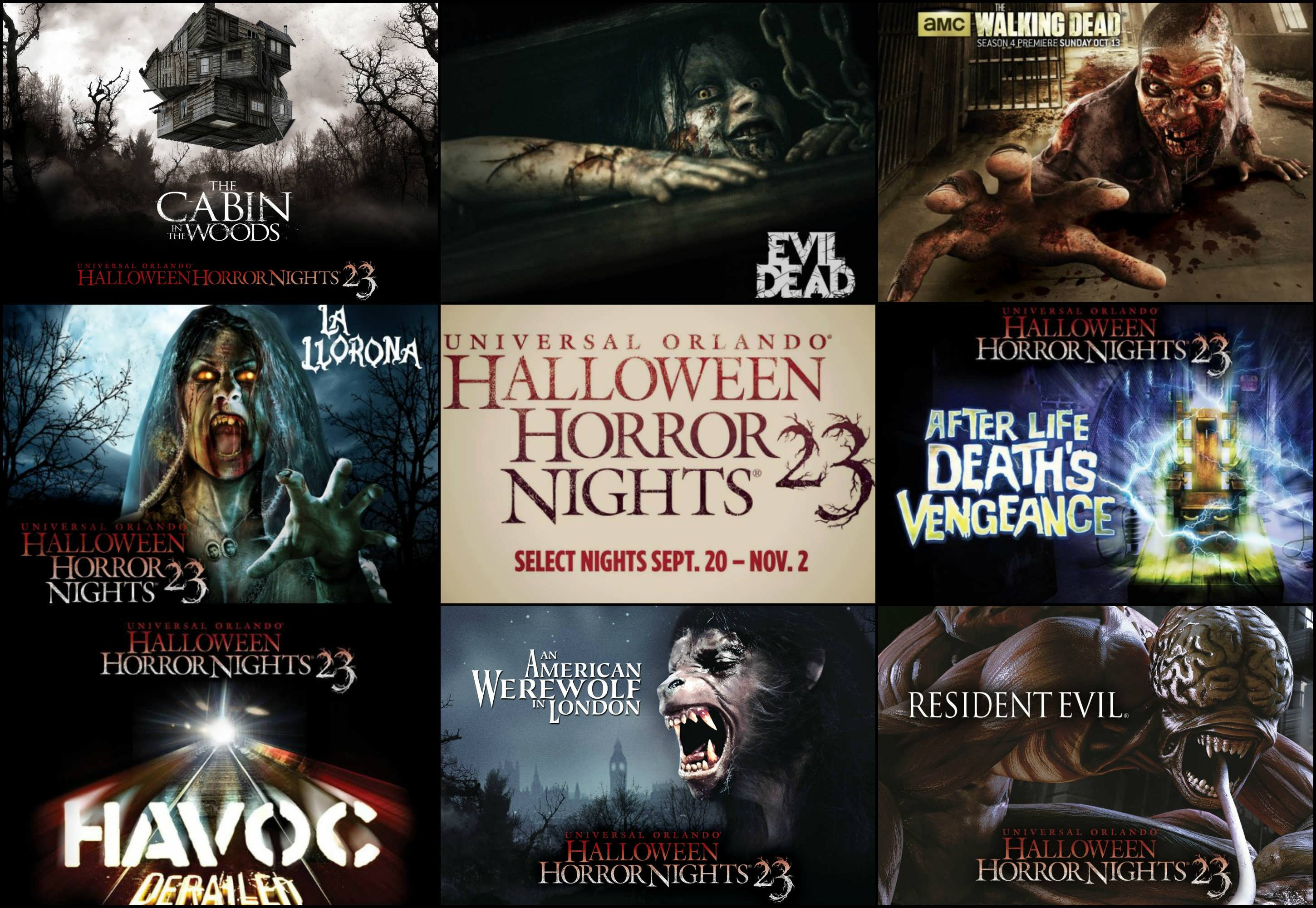 Halloween Horror Nights Reviews Of The Street Experience And Haunted Houses