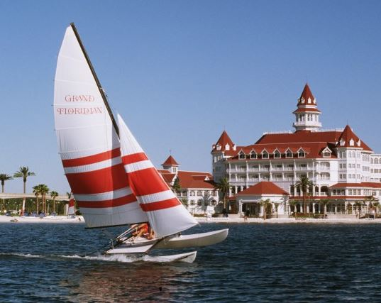 Sailing in the Grand Floridian