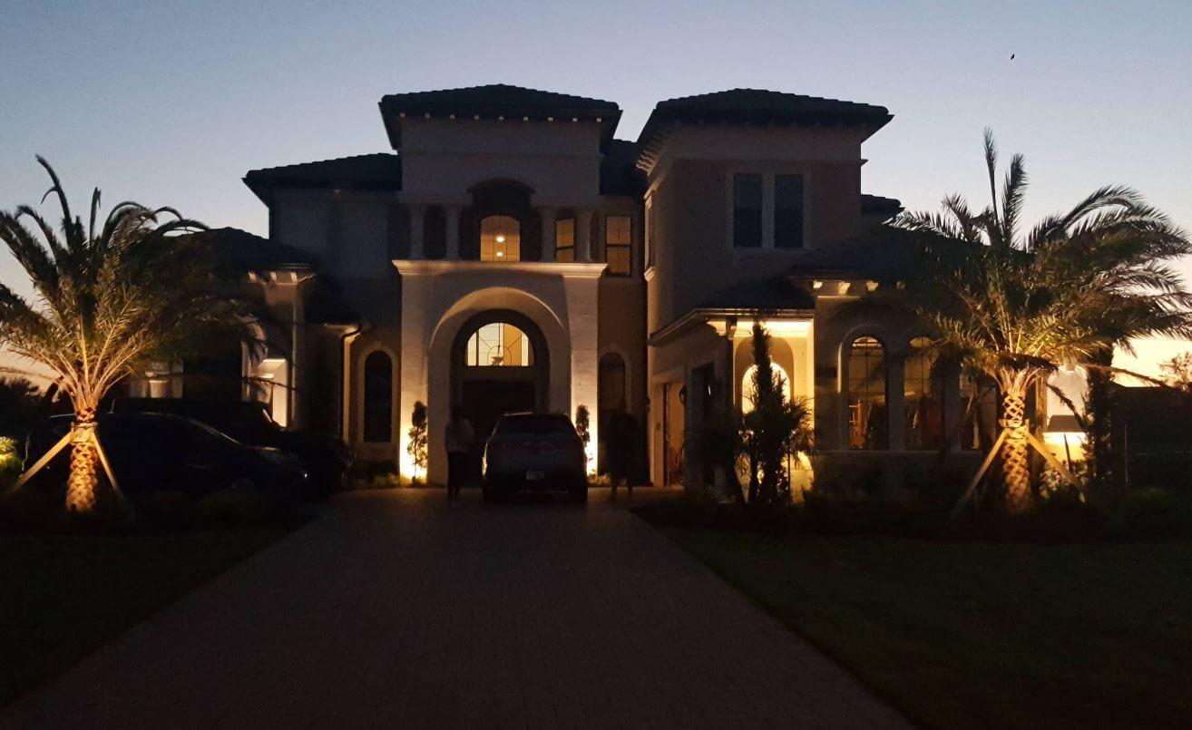 outdoor lighting going to cost