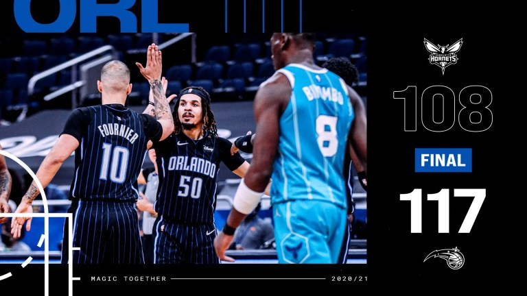 Read more about the article MAGIC TAKE THE STING OUT OF THE HORNETS