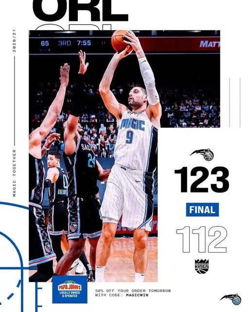 You are currently viewing THE MAGIC WIN AS VUCEVIC HITS 42 POINTS