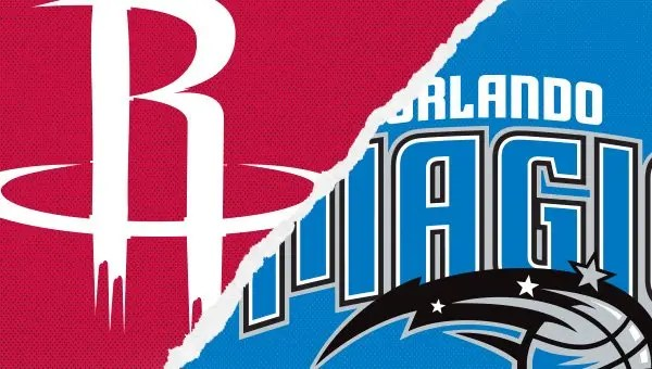 The Orlando Magic face the Houston Rockets on the road