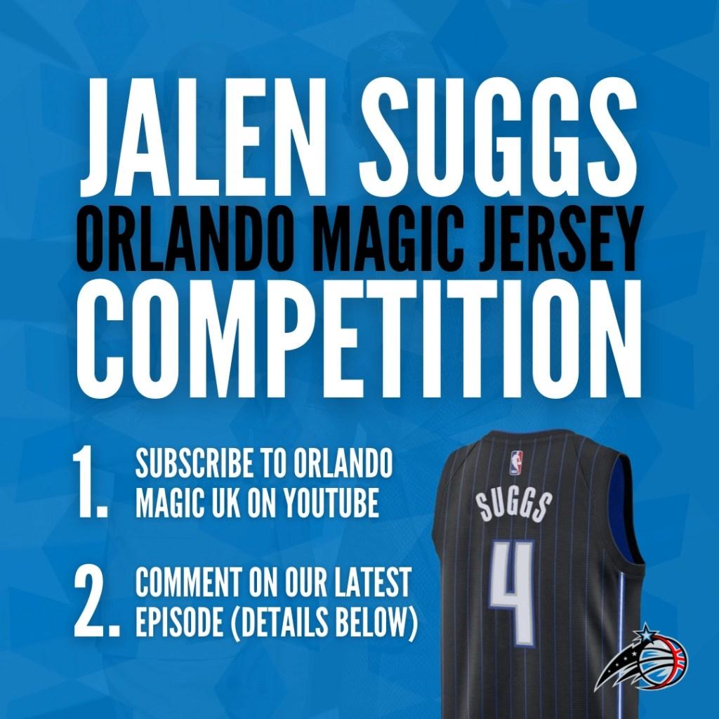 Orlando Magic UK Jalen Suggs Jersey Competition
