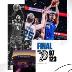 Orlando Tasted Defeat To The  Spurs
