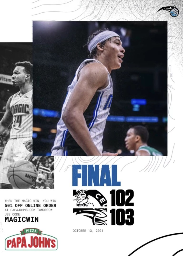 Read more about the article The Magic Close Preseason With A Win