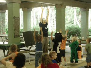 Free storytime at Central Florida Zoo