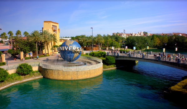 Universal Orlando Resort: image of entrance of Universal Studios