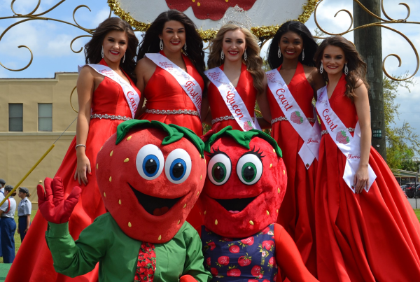 Plant City Strawberry Festival: image of Florida Strawberry Festival Queen's Pageant