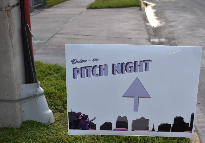 Organizers say Drive-in Pitch Night will return; Home Lending Pal wins first competition