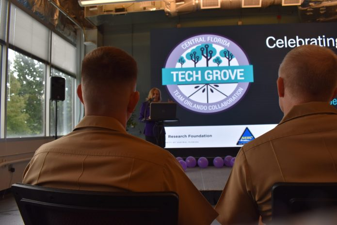 Tech Grove launches – nearly 1 year after opening – as 'collision space' for startups, military