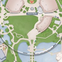 New map of Epcot shows the removal of Fountain of Nations, Club Cool and more