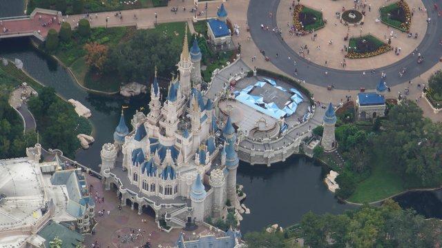Aerial Photos Of Walt Disney World Resort