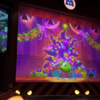 Monsters Inc. Laugh Floor Holiday Overlay at Mickey's Very Merry Christmas Party