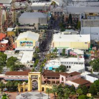 Aerial Photos of Universal Orlando Resort