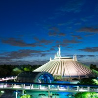 Object Reportedly Hits Female Guest on the Head on Space Mountain