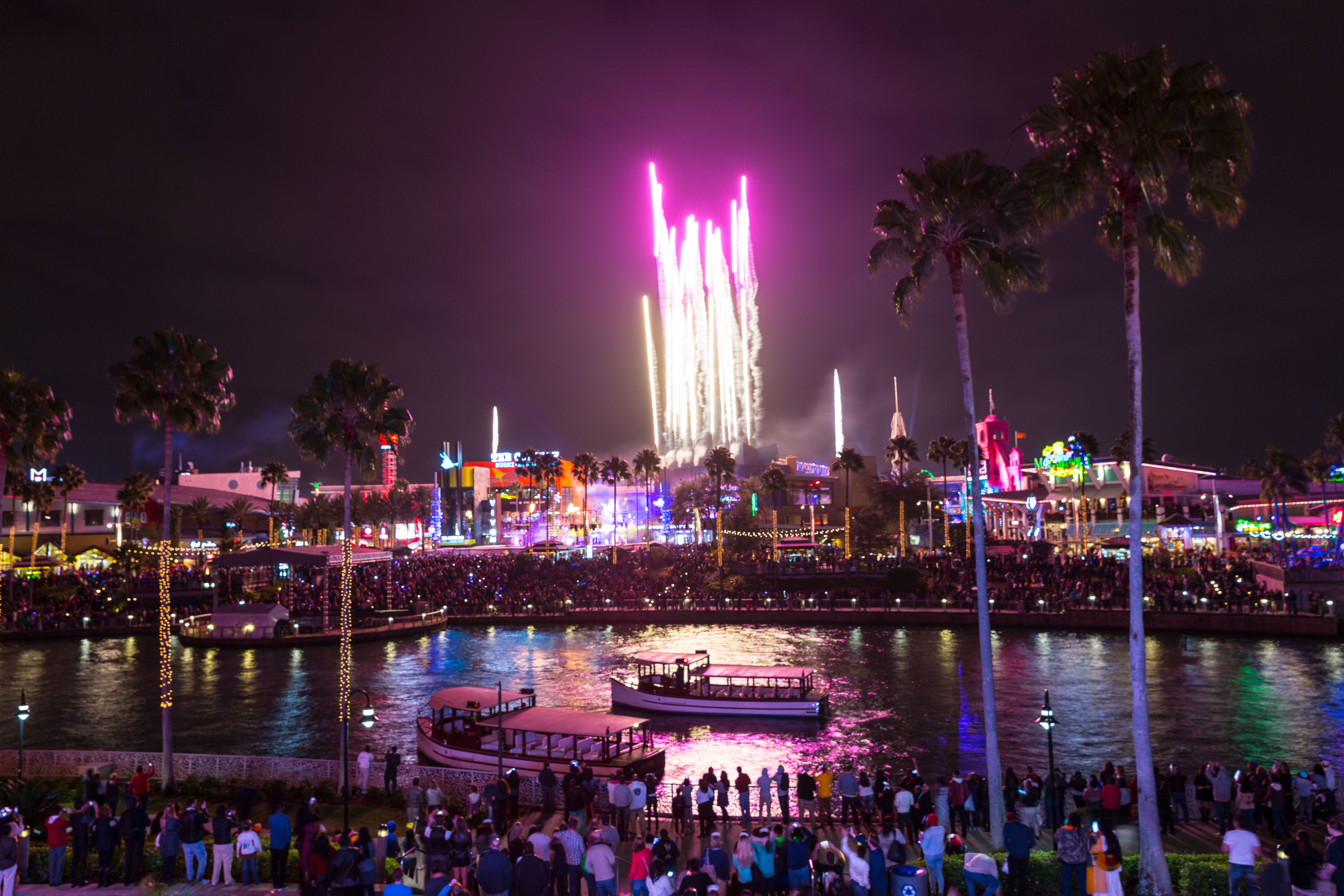 Epic New Year Celebrations at Universal Orlando Resort