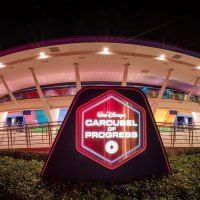 WATCH: Guests Climb on Carousel of Progress Stage