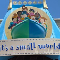 """It's a small world"" at the Magic Kingdom Operated with No Music"