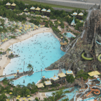 PHOTOS: Universal's Volcano Bay Reached Capacity Yesterday