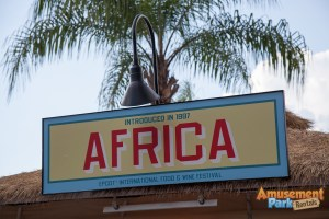 Epcot International Food and Wine Festival 2014 - Africa