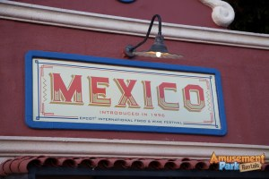 Epcot International Food and Wine Festival 2014 - Mexic0