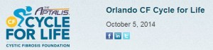 Orlando Cystic Fibrosis Cycle for Life Bike Ride