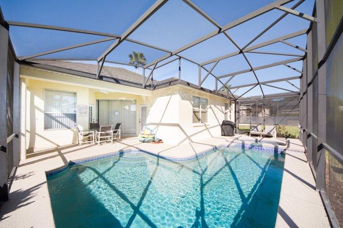 pool at Orlando vacation rental home 513