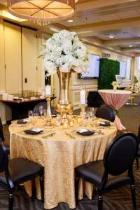 Black King Louis Chairs - Orlando Wedding and Party Rentals