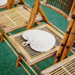 Bamboo Folding Chairs Wedding Fishing Chair Ebay Orlando And Party Rentals