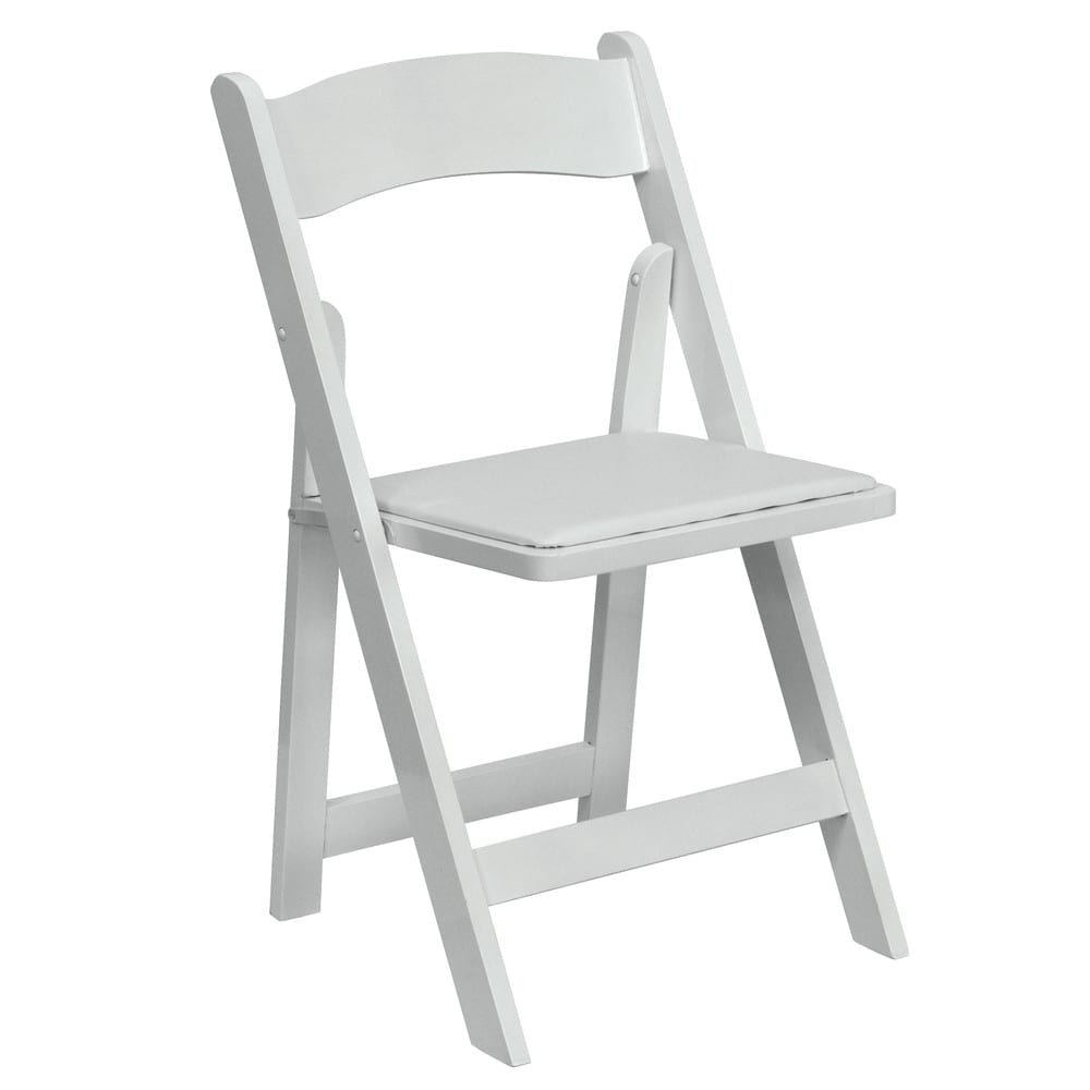 folding chairs for rent cozzia massage chair reviews white resin orlando wedding and party rentals crisp neutral classic banquet bright