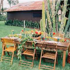 Bamboo Folding Chairs Wedding Hanging Chair Natural Orlando And Party Rentals