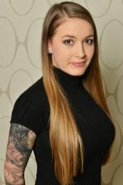 Lucie Dovhunová, hairstylist