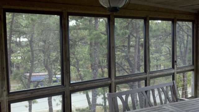 Orleans Glass  Mirror  Screen porch panels 11
