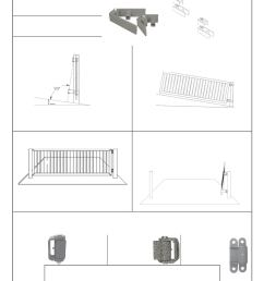 guardian heavy duty gate hinge round mount both sides with grease fitting l a ornamental pair [ 1338 x 1731 Pixel ]