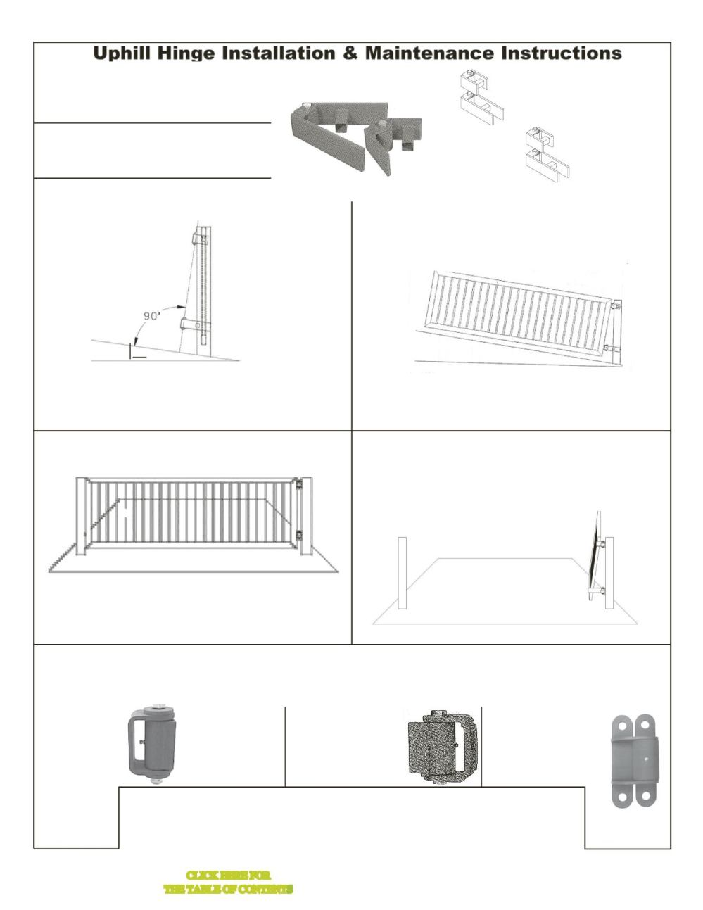 medium resolution of guardian heavy duty gate hinge round mount both sides with grease fitting l a ornamental pair