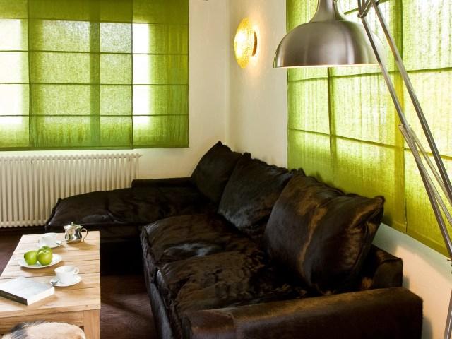 Hotel Ormelune Val d'Isère - Chambre XL - Salon