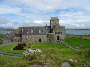 Iona Abbey entrance