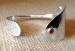 Ornamented Spoon Bracelet